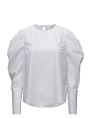 Verti blouse - OPTICAL WHITE
