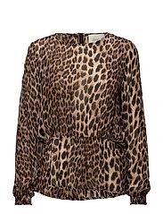 Ulrikka blouse - Leo aop