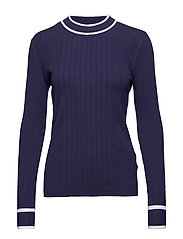 Ebba knit - BLUE IRIS