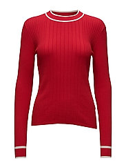 Ebba knit - RIBBON RED