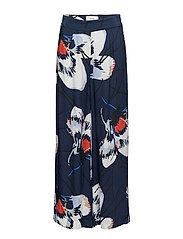 Anna pants - Big flower aop