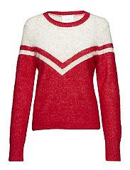 Swiss knit - SCARLET SAGA