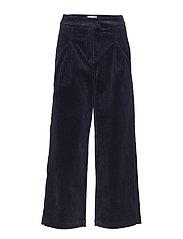 Ludvine trousers - DARK SAPPHIRE