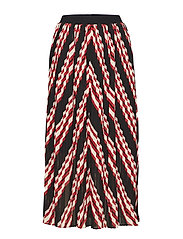 Coline skirt - RED STRIPE