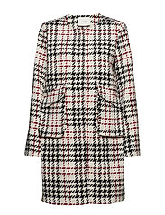Laurine coat - CHECK