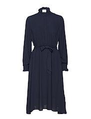 Kaleda dress - DARK SAPPHIRE