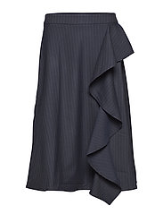 Lily skirt - BLUE PINSTRIPE
