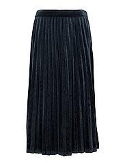Clara velvet skirt - DARK SAPPHIRE