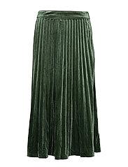 Clara velvet skirt - MOUNTAIN VIEW