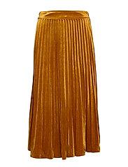 Clara velvet skirt - PUMPKIN SPICE