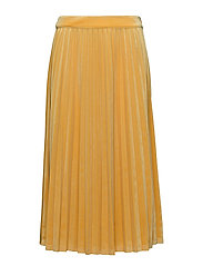 Clara velvet skirt - SPECTRA YELLOW