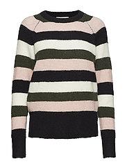 Estelle stripe knit - MULTI STRIPE