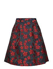 Cyril skirt - JAQUARD FLOWER