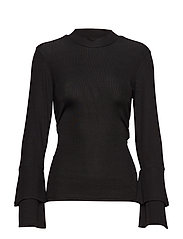 Chia blouse - BLACK