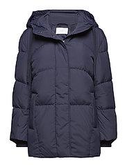 Puffy coat - DARK SAPPHIRE