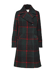 Emeline coat - GREEN CHECK