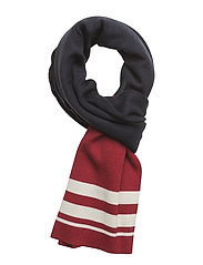 Trix scarf - BLUE RED STRIPE