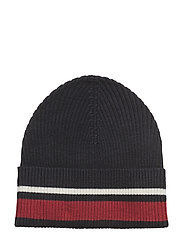 Trix beanie - BLUE RED STRIPE
