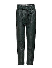 Sago leather trousers - PINE GROVE