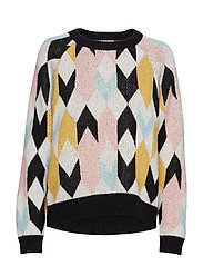 Harlequin knit