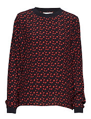 Nathan blouse - TINY ROSE AOP
