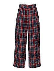 Sinclair trousers - RED CHECK