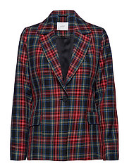 Sinclair blazer - RED CHECK