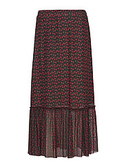 Alley maxi skirt - TINY ROSE AOP