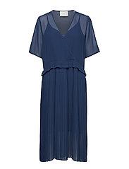 Jose dress - BLUE IRIS