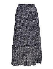 Leah maxi skirt - CAROLINE AOP