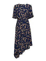 Welis dress - LEOPARD AOP