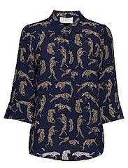 Welis shirt - LEOPARD AOP