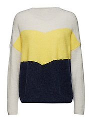 Herle knit - PALE YELLOW
