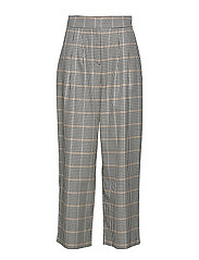 Holmes wide trousers - BRIGHT CHECK
