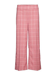 Maxime trousers - ROSE CHECK