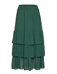 Lera maxi skirt - DARK GREEN