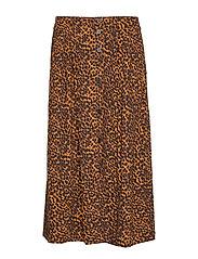 Coca skirt - BROWN ANIMAL