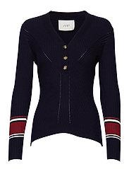 Vindis knit blouse - TOTAL ECLIPSE COMB.