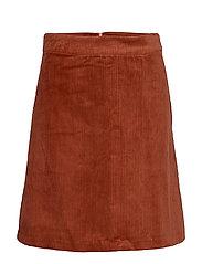 Jane skirt - RED OCHRE