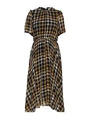 Brix dress - KAREN CHECK AOP