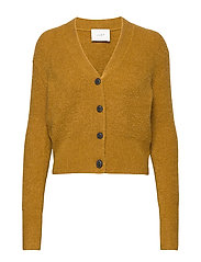 Rebelo knit cardigan - DRIED TABACCO