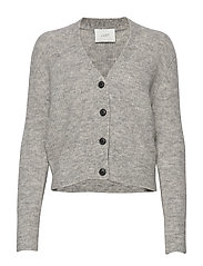 Rebelo knit cardigan - GREY MELANGE