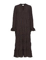 Musette maxi dress - DOT AOP