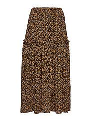 Fiji maxi skirt - LITTLE FLOWER AOP