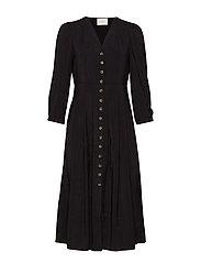 Jena dress - BLACK