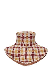 Harper knit buff - HARPER GOLDEN CHECK AOP