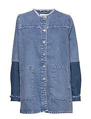 Norma denim jacket - BLUE DENIM