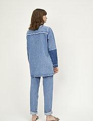Just Female - Norma denim jacket - denimjakker - blue denim - 3