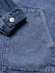 Just Female - Norma denim jacket - denimjakker - blue denim - 6