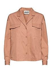 Bibi shirt - LATTE